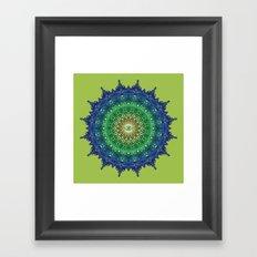 Eye of the Earth Framed Art Print