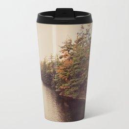 Early Autumn on Lake George Travel Mug