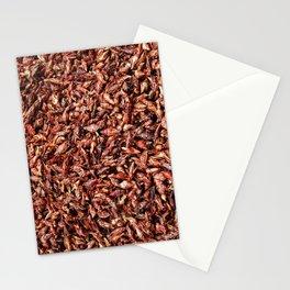 chapulines enchilados Stationery Cards