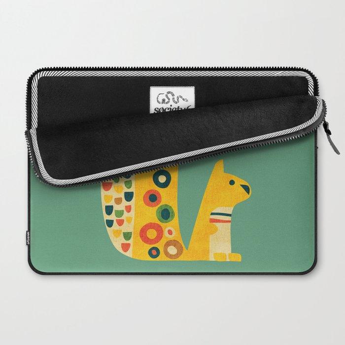 Century Squirrel Laptop Sleeve