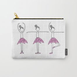 Ballerinas in Pink Carry-All Pouch