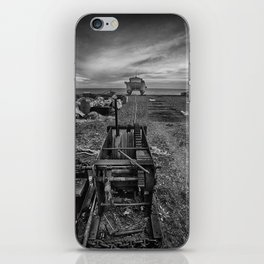 Winched Fishing Boats iPhone Skin