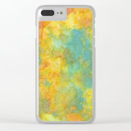 Ink Play - Abstract 01 Clear iPhone Case