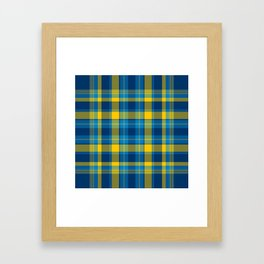 Plaid No. 33 Framed Art Print