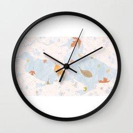 Fall Mallards decor Wall Clock