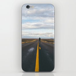 Explore The Open Road iPhone Skin