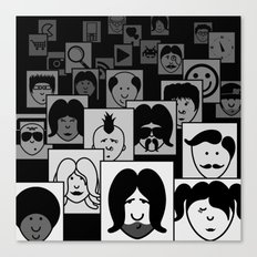SF Guess Who? Canvas Print