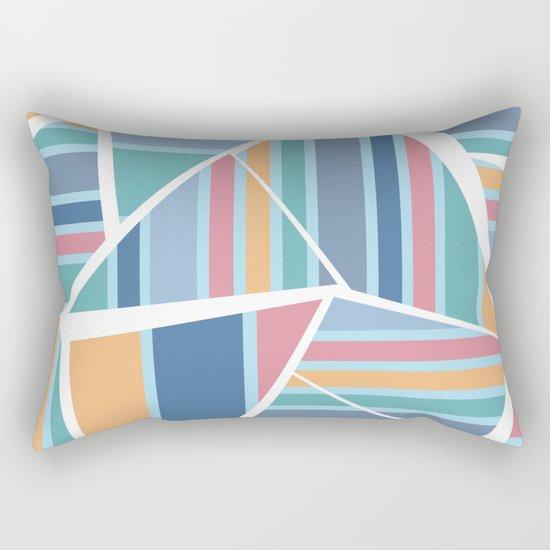 CRAZY STRIPES (abstract pattern) Rectangular Pillow