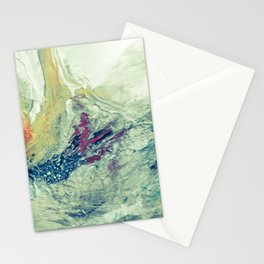 abstract studdy 2 Stationery Cards