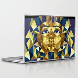 Golden Tutankhamun - Pharaoh's Mask Laptop & iPad Skin