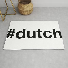 DUTCH Hashtag Rug