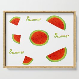 Watermelon for summer Serving Tray