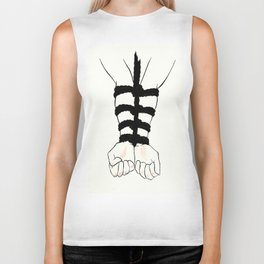 All Tied Up Biker Tank