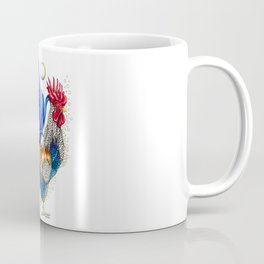 Gallo de las dos lunas Coffee Mug