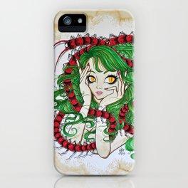 Centipede Maiden iPhone Case