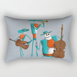 Mariachi Muerto Rectangular Pillow