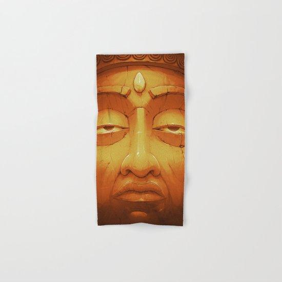 Buddha II Gold Hand & Bath Towel