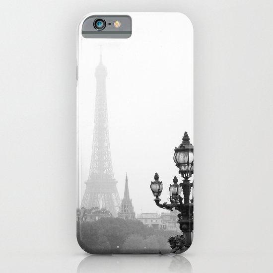Veiled Eiffel Tower iPhone & iPod Case