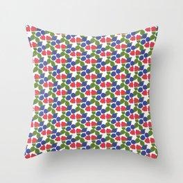 Bär - Svensk sommar Throw Pillow