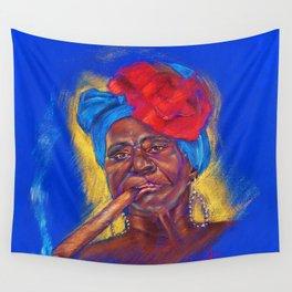 Cigar Woman Wall Tapestry