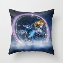 Wind Surfers II (3) Throw Pillow