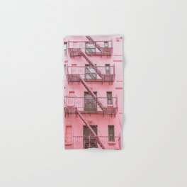 Pink Soho NYC Hand & Bath Towel