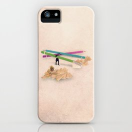 The pencil sharpener iPhone Case