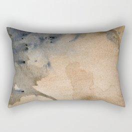 Arial (Watercolor) Rectangular Pillow