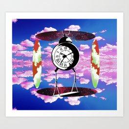 Clock work Art Print