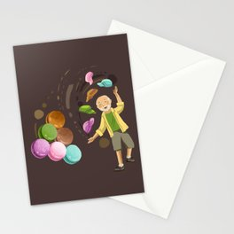 Macarons Stationery Cards