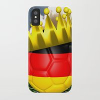 world cup iPhone & iPod Cases featuring World Cup Champion 2014 by Littlebell