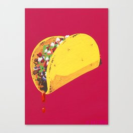 Let's Taco 'Bout It Canvas Print