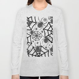 Black And White Halloween Long Sleeve T-shirt