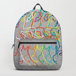 Rainbow Unicorn V02 Backpack