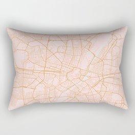 Munich map, Germany Rectangular Pillow