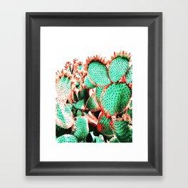Cactus - watetcolor II Framed Art Print