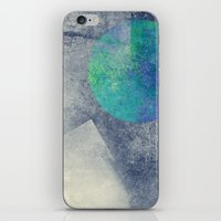 the moon iPhone & iPod Skins featuring moon by Claudia Drossert