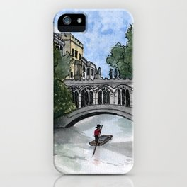 The Bridge of Sighs iPhone Case