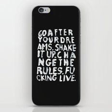 LIVE iPhone Skin
