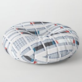S03-2 - Facade Le Corbusier Floor Pillow
