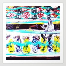 BACH:  Cello Concerto        by Kay Lipton Art Print