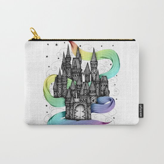 Super Magic Rainbow Dream Castle Carry-All Pouch