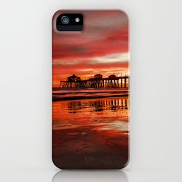 HB Sunsets 11-15-16 iPhone Case