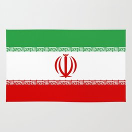 flag of iran- Persia, Iranian,persian, Tehran,Mashhad,Zoroaster. Rug