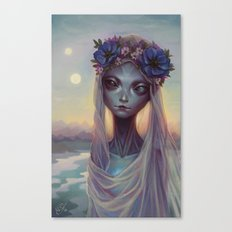 Dreams of Other Worlds Canvas Print