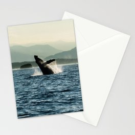 Humpback Whale Photography Print Stationery Cards