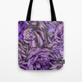Great Garden Roses with silver dust Tote Bag