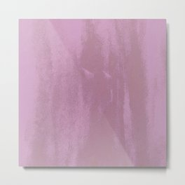 Pink & Pink & Pink & Purple Metal Print