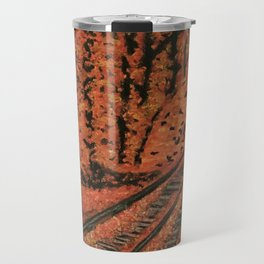 Fall Scene Travel Mug