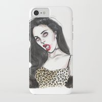 charli xcx iPhone & iPod Cases featuring Charli by Lucas David